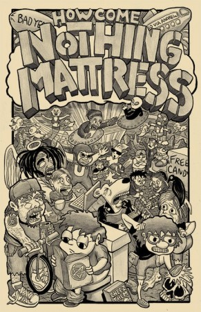 NothingMattress_v2cover_MRR_Funnies25