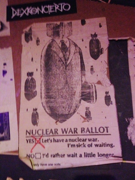 Nukes: The future is now. Or maybe it is 1982.