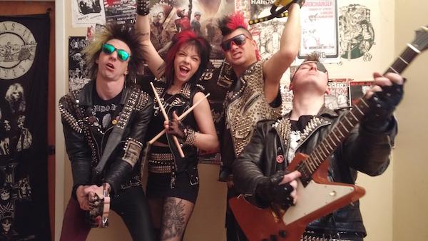 How Punk Band Tours East Coast
