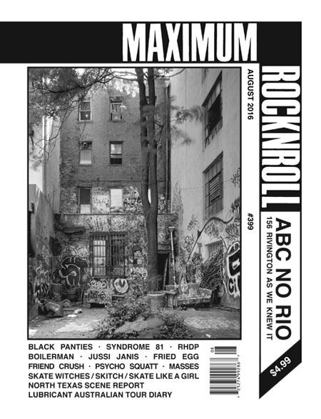 Maximum Rocknroll #399