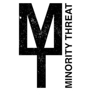 minority threat band logo