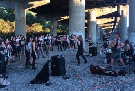 Left Cross at The Rockpile, 2015 Richmond Punx Picnic