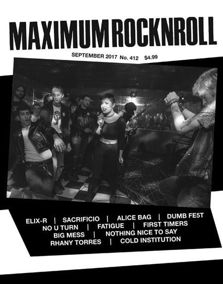 Maximum RockNRoll Punk/Hardcore Fanzine Issues 25,26,27,28,29,30