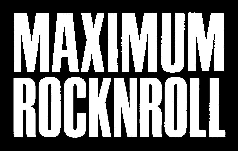 Reviews | MAXIMUM ROCKNROLL